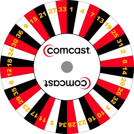 Custom Prize Wheels like this Comcast Prize Wheel