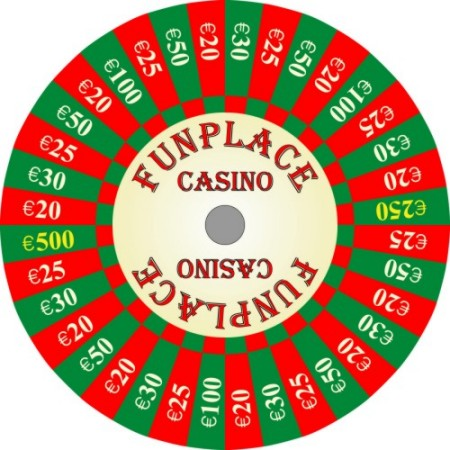 Custom Prize Wheels like this Funplace Casino Prize Wheel