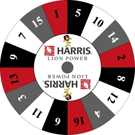 Custom Prize Wheels like this Harris Bank Prize Wheel